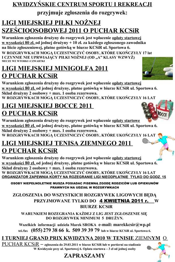 20110321 KCSiR rozgrywki