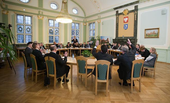 20110401 VI sesja Rady Miejskiej w Kwidzynie