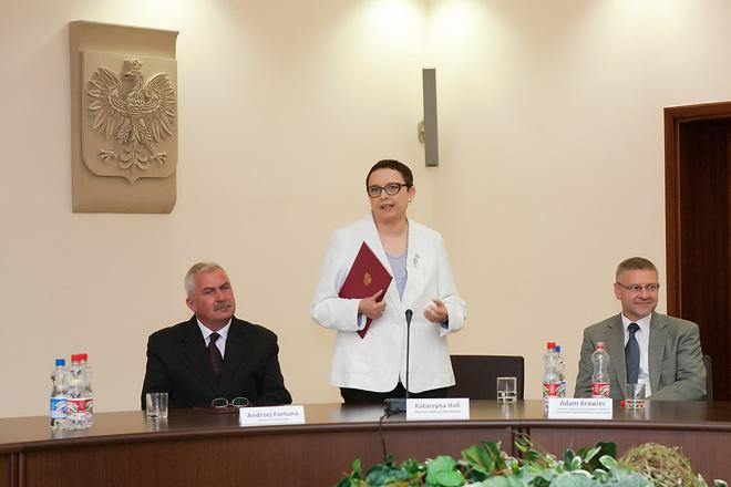 20110622 - Wizyta Minister Edukacji Katarzyny Hall w Kwidzynie foto1