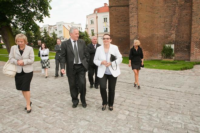 20110622 - Wizyta Minister Edukacji Katarzyny Hall w Kwidzynie foto5