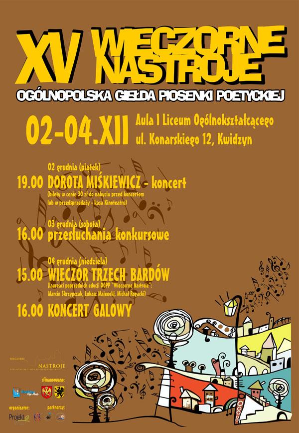 20111117 Wieczorne plakat