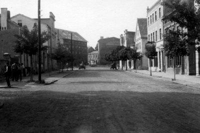Kwidzyn - Ulica Targowa, lata 60-te XX wieku