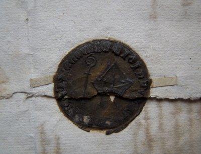 Najstarsza zachowana pieczęć z herbem Kwidzyna
