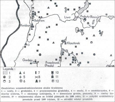Osadnictwo wczesnośredniowieczne okolic Kwidzyna