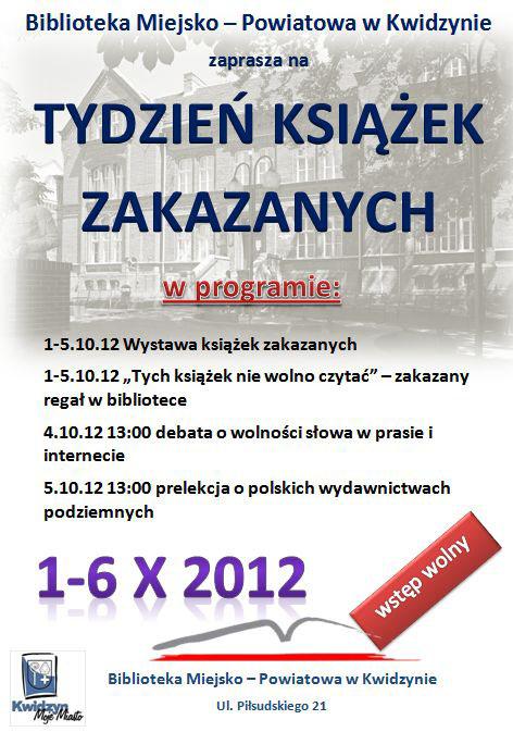 20121002 Tydzień książek Zakazanych