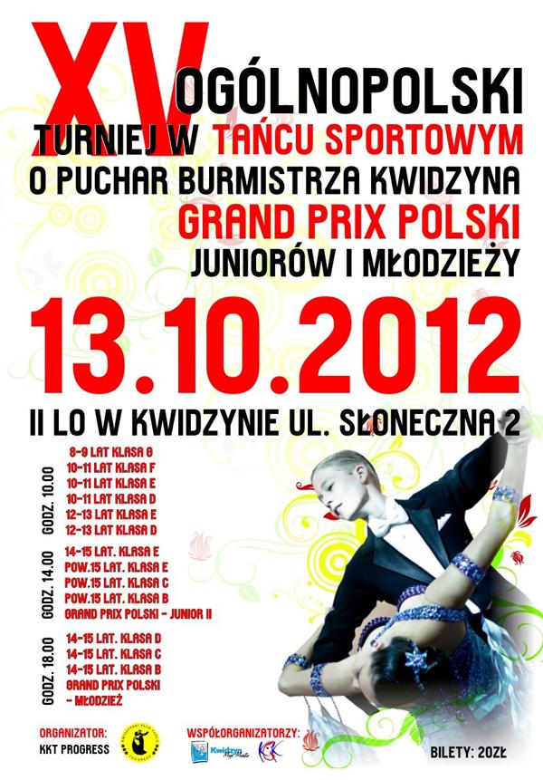 20121009 Ogólnopolski Turniej Tańca