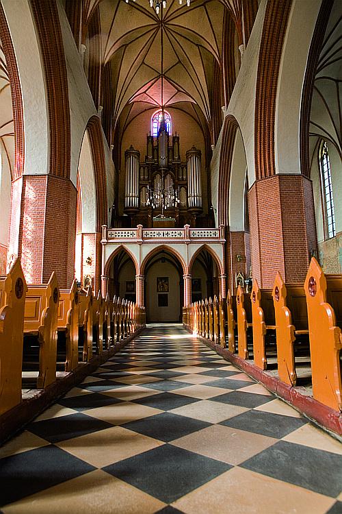 katedra, kwidzyn ekg