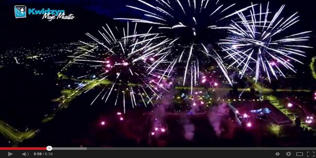 Dni Kwidzyna 2014 - pokaz fajerwerków