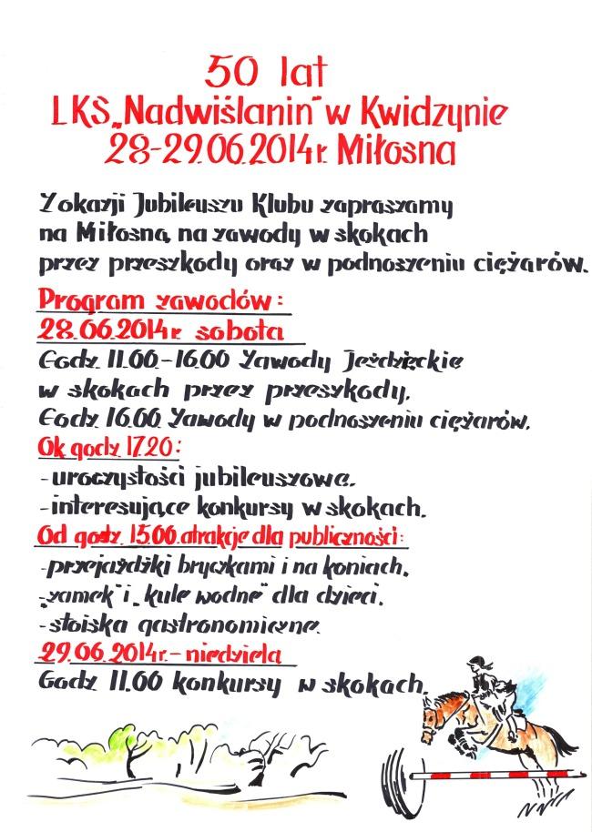 2014 06 27 Jubileusz plakat2