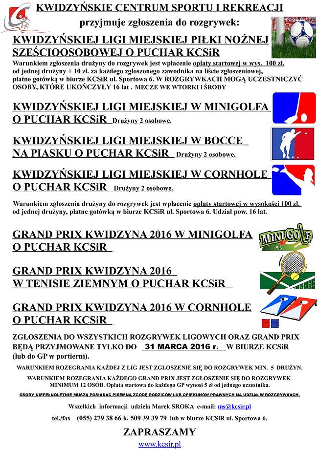 14 03 2016 rozgrywki