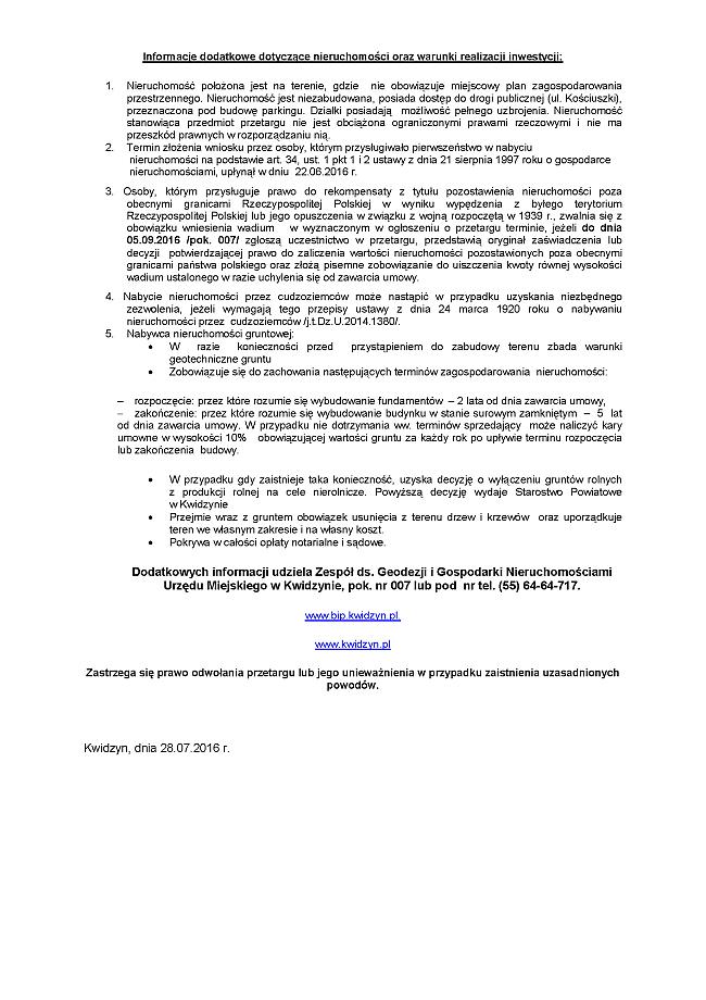 29 07 2016 Kosciuszki parking Page 2