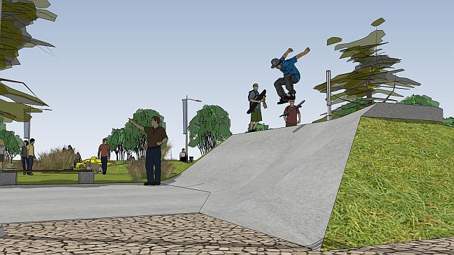 25 01 2017 Skate Plaza 4