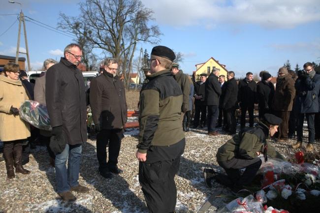Zdjęcie z obchodów Narodowego Dnia Żołnierzy Wyklętych