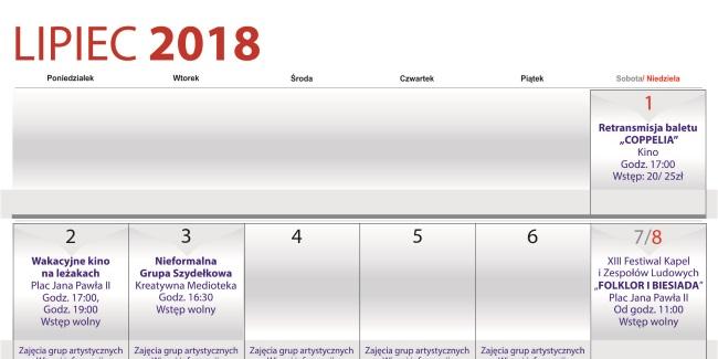 28 06 2018 kalendarz lipiec