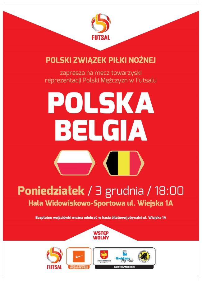 20 11 2018 futsal polska belgia