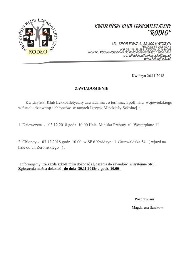 26 11 2018 futsal