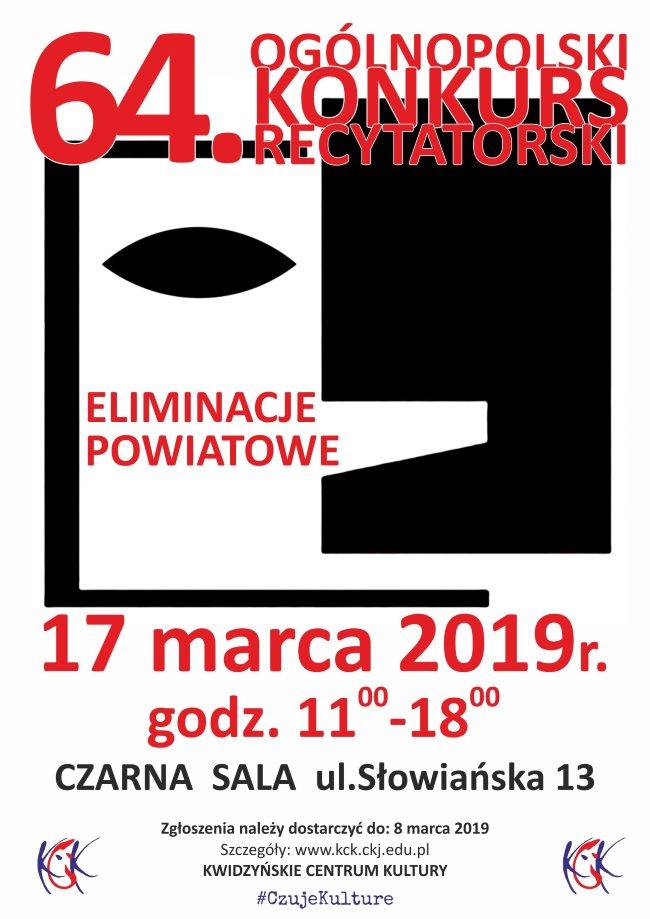 15 02 2019 konkurs recytatorski