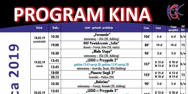 08 02 2019 program kina