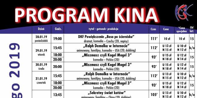 25 01 2019 program kina