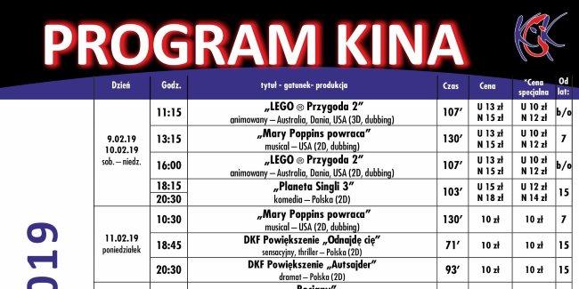 31 01 2019 program kina