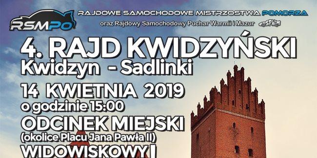 03 04 2019 rajd kwidzynski