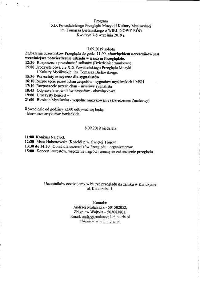 04 07 2019 przeglad muzyki mysliwskiej4
