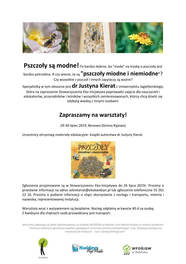 18 07 2019 pszczoly miodne i niemiodne1