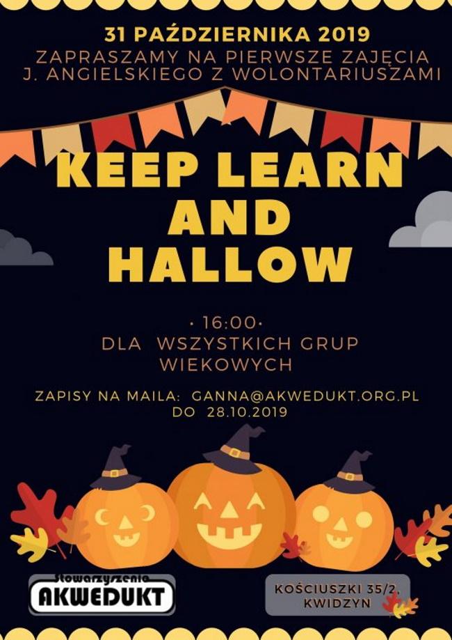 18 10 2019 keep learn and hallow