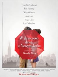 """Plakat filmu """"W deszczowy wieczór w Nowym Jorku"""""""