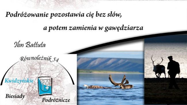 Plakat Kwidzyńskich Biesiad Podróżniczych