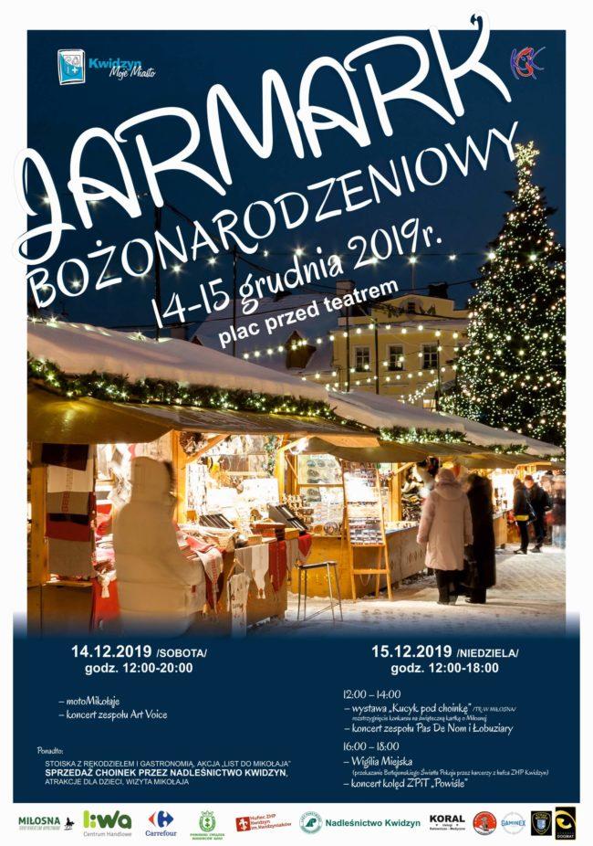 Plakat Jarmarku Bożonarodzeniowego