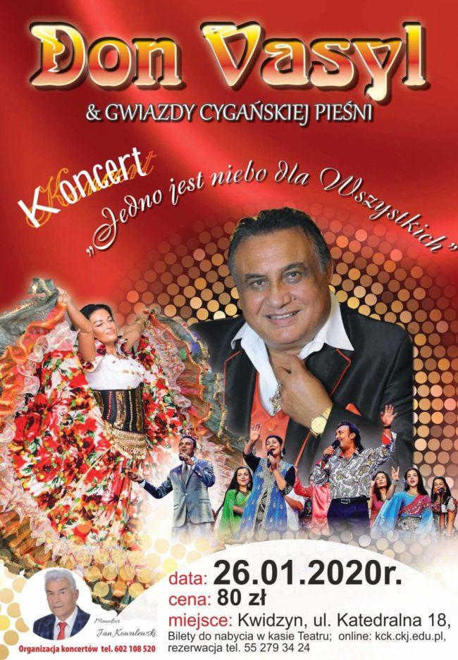 Plakat koncertu Dona Vasyla