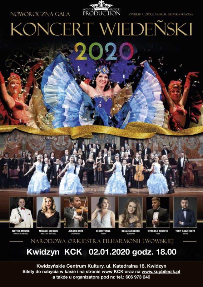Plakat Koncertu Wiedeńskiego