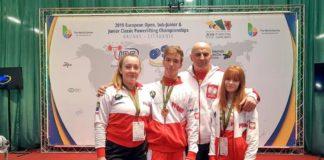 Nikola, Julka, Karol i trener