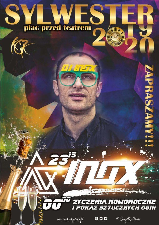 Plakat Sylwestra 2019-2020