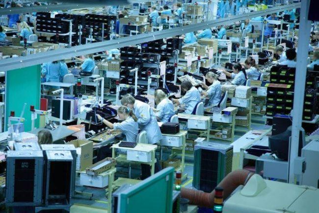 Linia produkcyjna w Jabilu