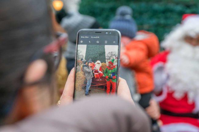 Święty Mikołaj z elfem