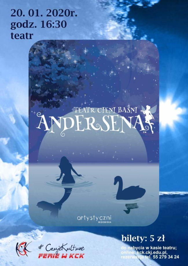 Plakat Teatru Cieni Baśni Andersena