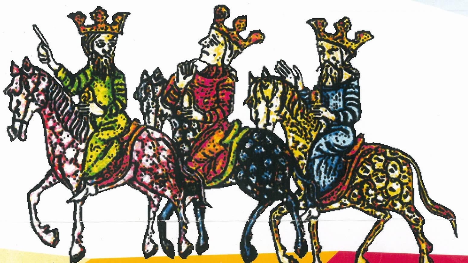 Rysunek Trzech Króli