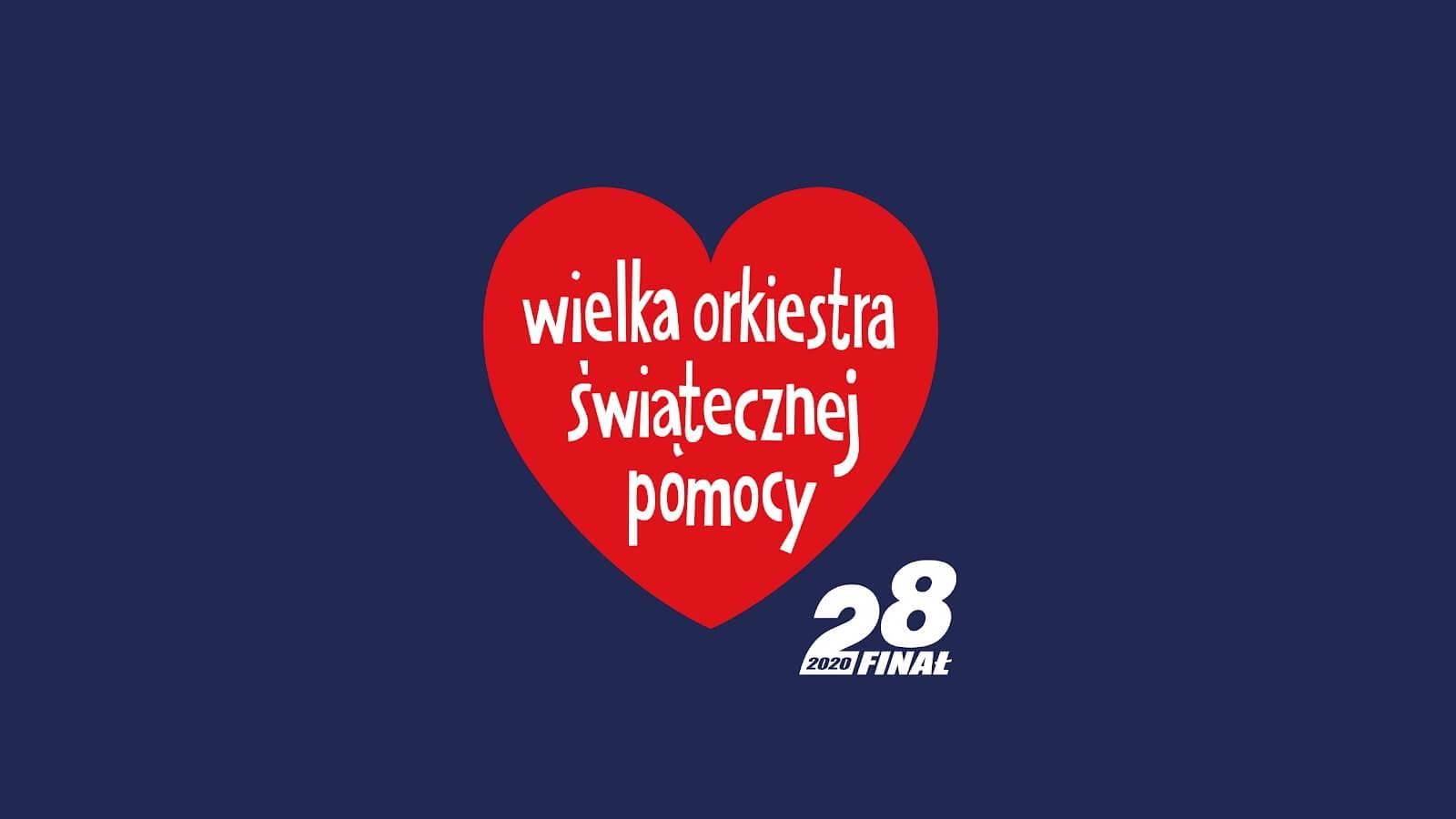 Plansza 28. Finału Wielkiej Orkiestry Świątecznej Pomocy