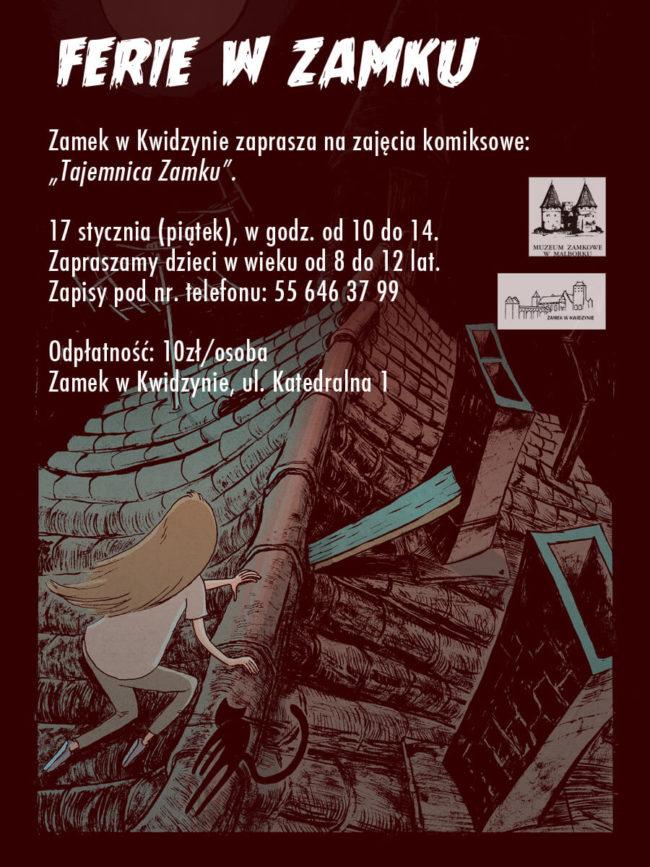Oferta ferii zimowych 2020 Zamku w Kwidzynie