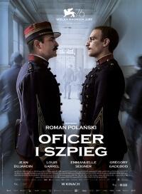 "Plakat filmu ""Oficer i szpieg"""
