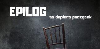 """Fragment plakatu konkursu """"Epilog"""""""