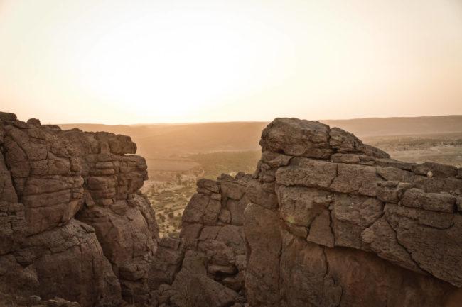 Kanion w Algierii