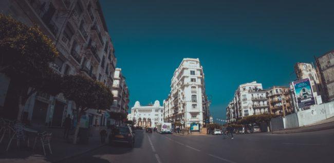 Miasto w Algierii
