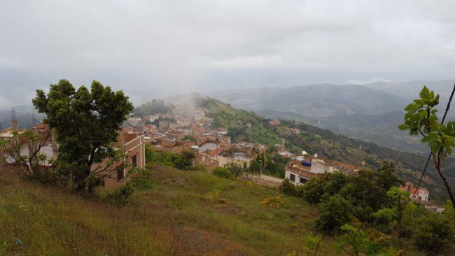 Wioska w Algierii