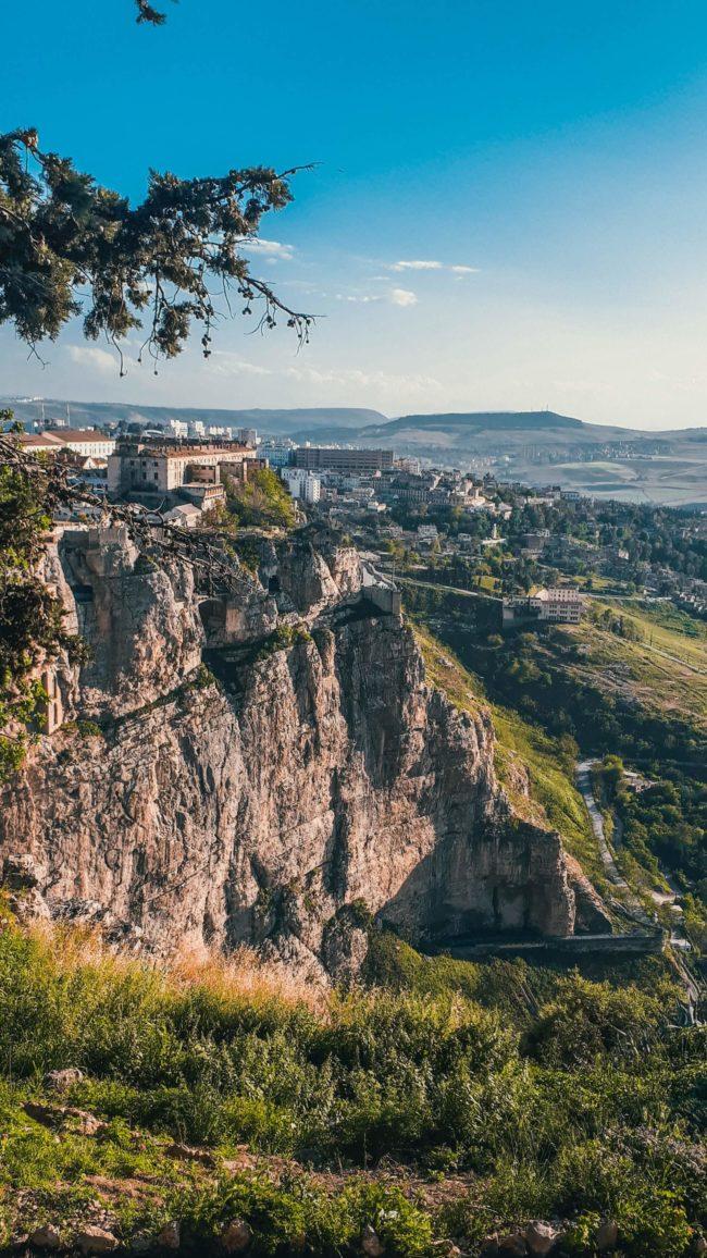 Widok na miasto w Algierii