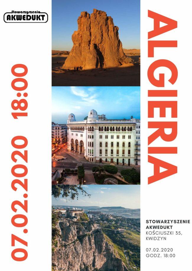 Plakat prezentacji Algierii
