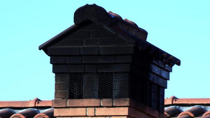 Zanieczyszczony komin