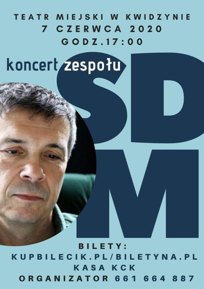 Plakat koncertu zespołu Stare Dobre Małżeństwo